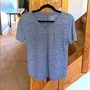 Tek Gear Drytek heathered Gray T-shirt size Small